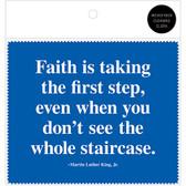 MLK Faith Quote Microfiber Cloth