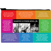 MLK Quote Zipper Pouch
