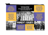 Women's Rights Zipper Pouch