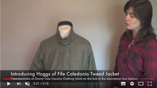Hoggs of Fife Caledonia Tweed Jacket Product Video