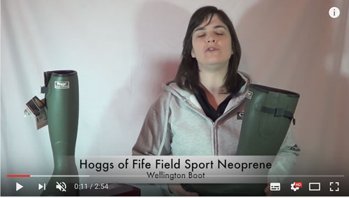 Hoggs of Fife Field Sport Wellington Boot Product Video