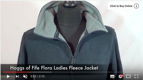 Hoggs of Fife Flora Fleece Jacket
