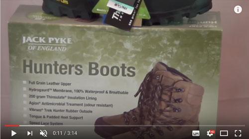 Jack Pyke Hunters Boots Product Video
