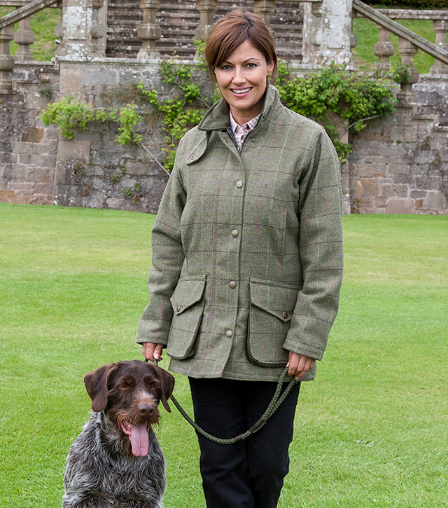 Hoggs Of Fife Caledonia Tweed Collection Ladies Tweed