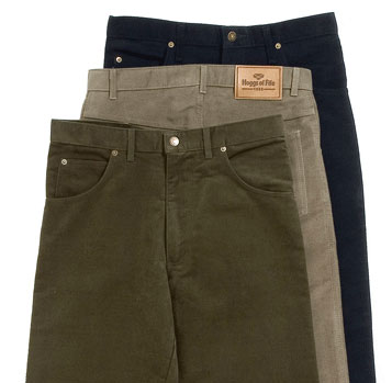 Mens Cord Trousers and Moleskin Trousers
