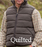 Mens Quilted Waistcoat