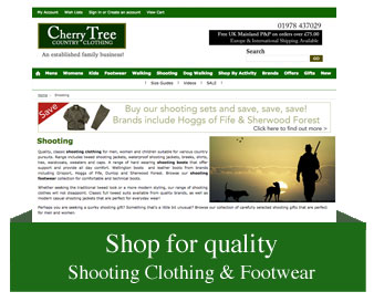Shop Shooting Clothing & Footwear