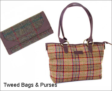 Tweed Bags & Purses