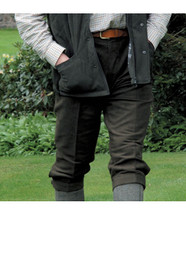 Moleskin breeches for men