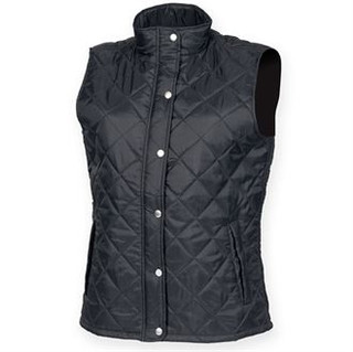 Ladies Quilted Diamond Gilet