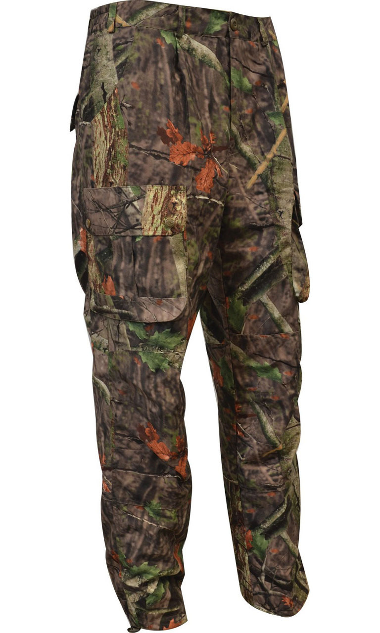 mens camouflage shooting trousers