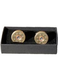 J Boult Designs 12 Bore Shotgun Cartridge Cufflinks