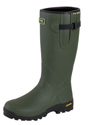 Cotton lined shooting wellington boots