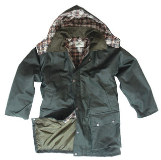 Hoggs of Fife Kids Wax Jacket
