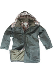 Hoggs of Fife Padded Waxed Jacket (Kids)