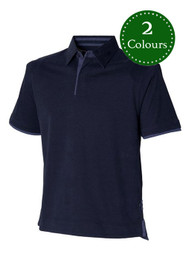 Super soft jersey polo shirt