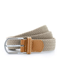 Khaki Braided Belt