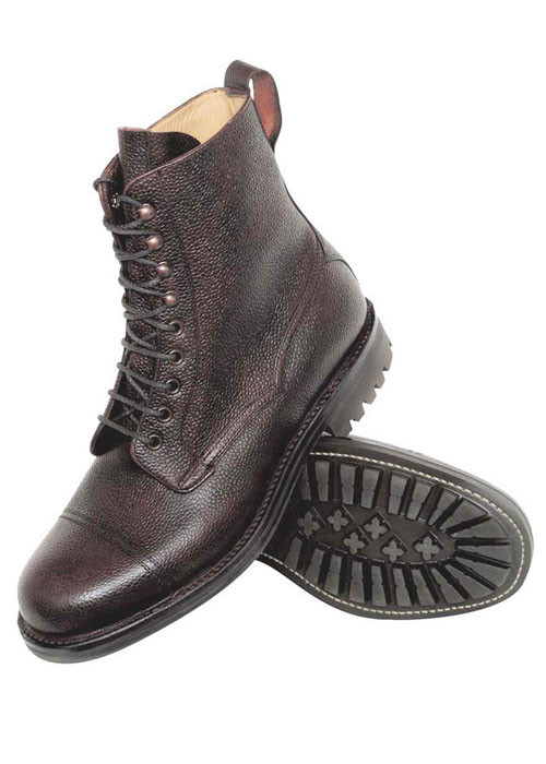 Mens british bench made boots and shoes