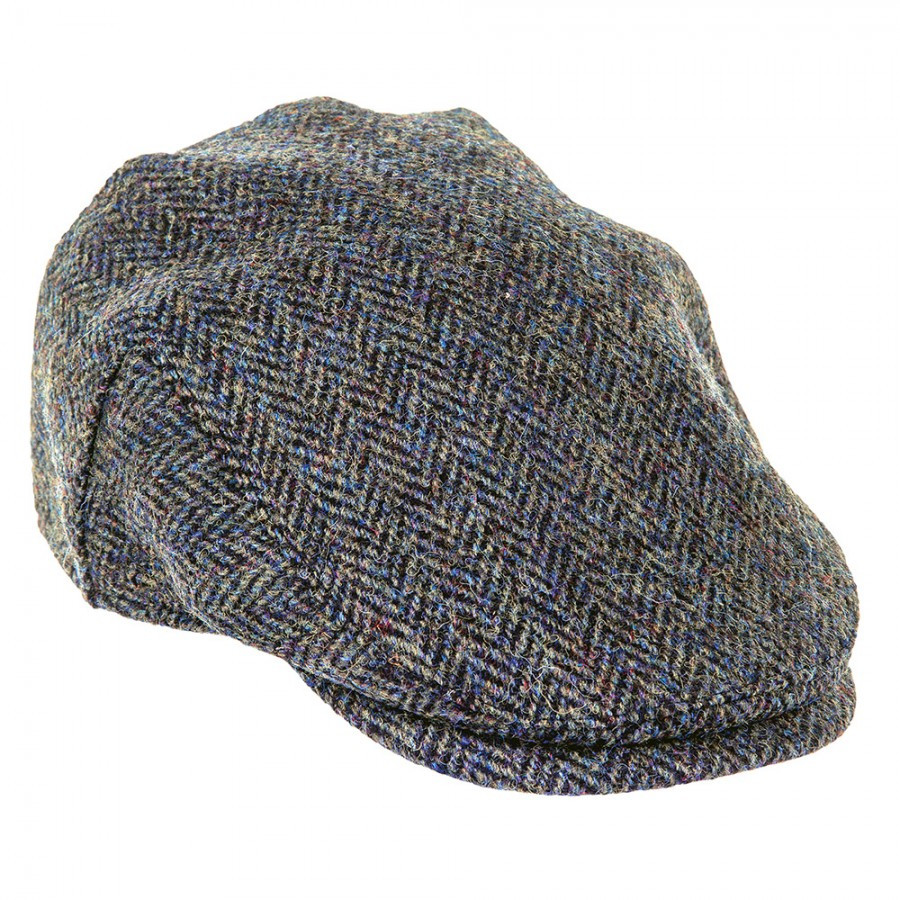 Loading zoom. Harris Tweed Flat Cap ... 23a6ae820d31