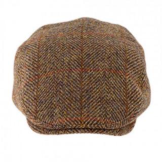 Luxury Harris Tweed Flat Cap