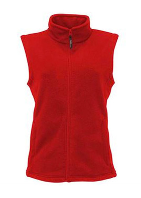 Ladies microfleece waistcoat
