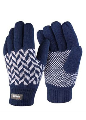 Pattern Thinsulate Gloves