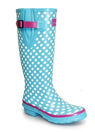 Lunar Polka Dot wellies