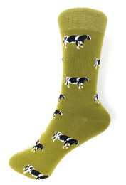 Novelty Cow Socks