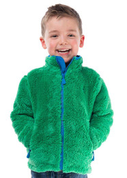Boys sherpa fleece jacket