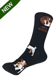 Jack Russell Themed Socks