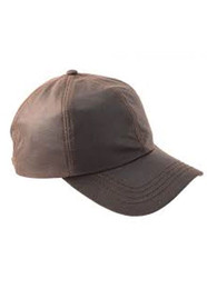 Wax Baseball Cap brown