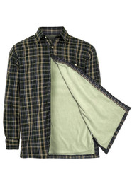 Champion Sherborne Fleece Lined Shirt - Green