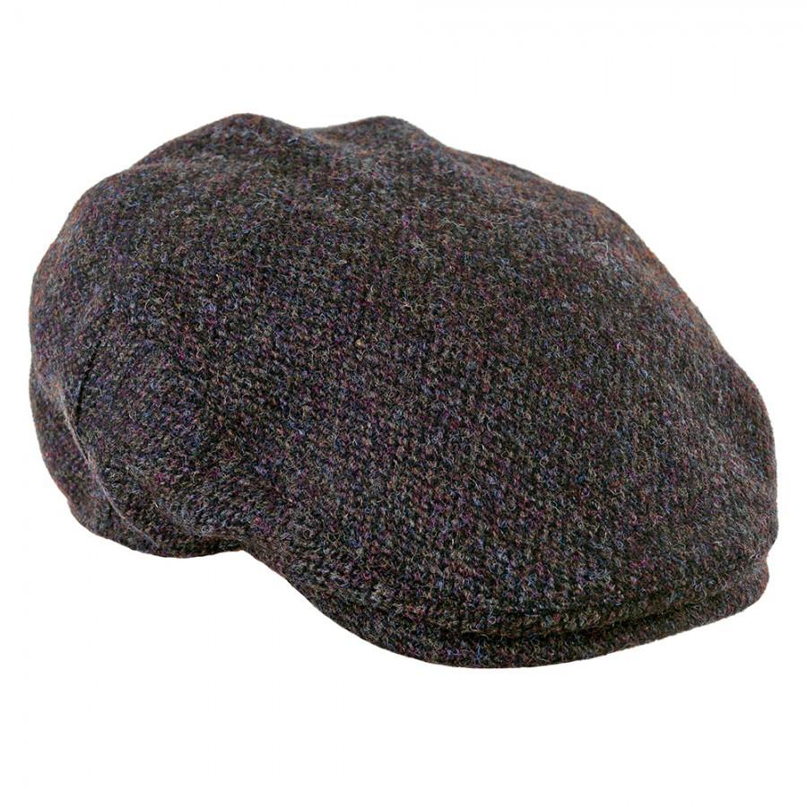 ae216b0381fa29 NEW Highland Harris Tweed Flat Cap | Country Clothing