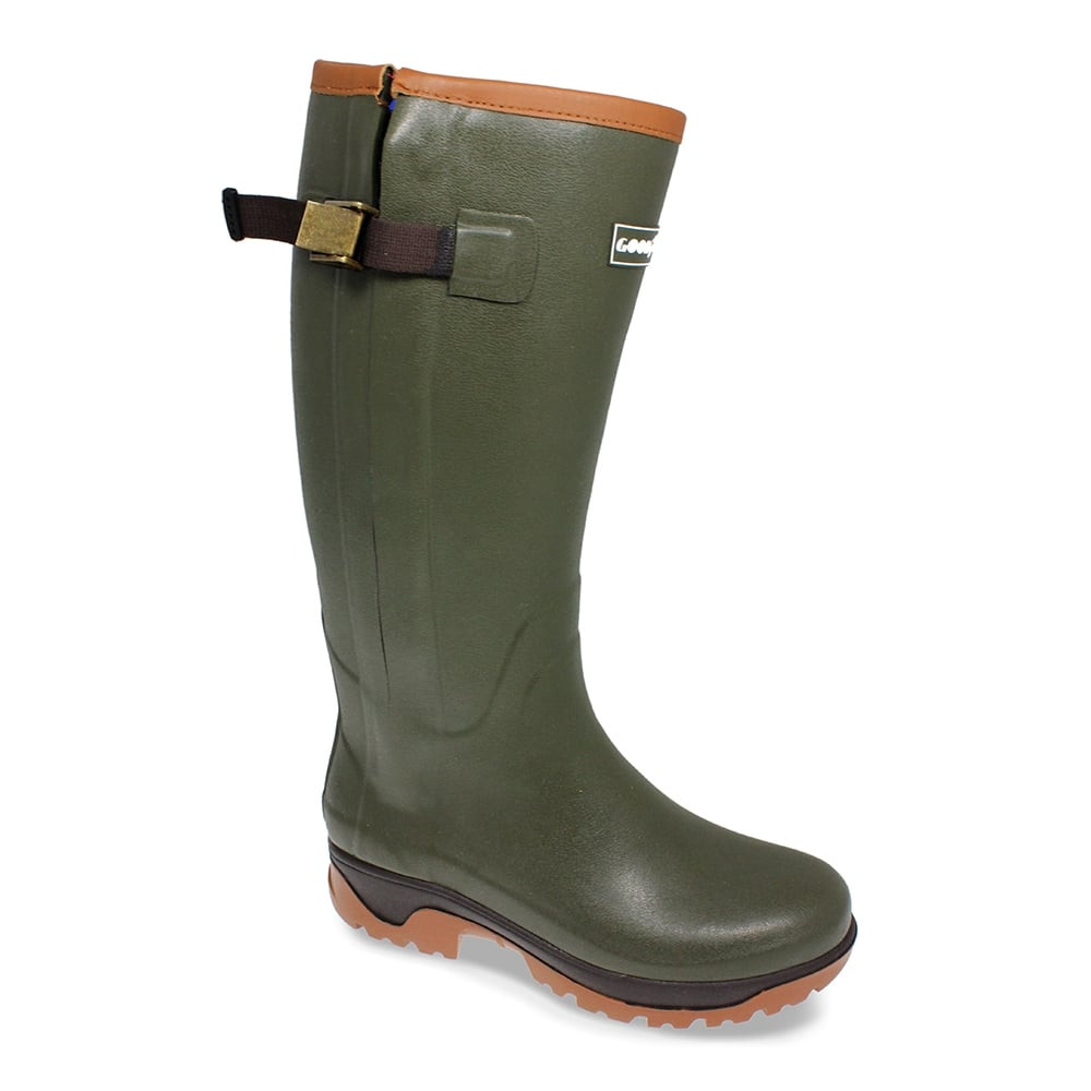 Goodyear Delta Zipped Wellington Boot Product Video