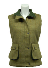 Ladies Game Derby Tweed Gilet