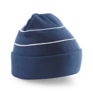 Hi Visibility Beanie Hat Navy