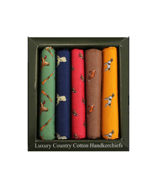 Country Themed Handkerchief