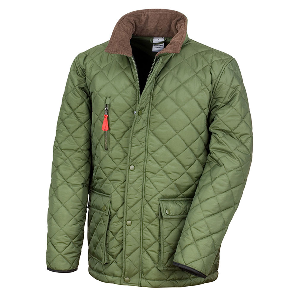 mens quilted shooting jackets