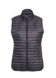Fineline Padded Gilet - Steel