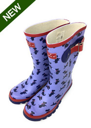 Lunar Scottie Wellingtons