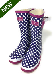 Polka Dot Short Wellies