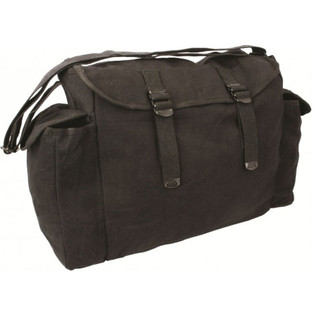 Large Haversack Black