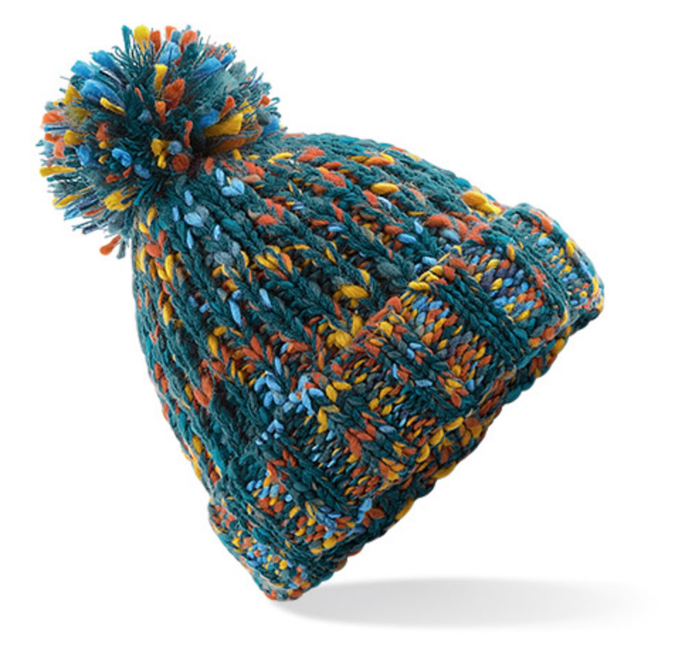Retro Twist Pom Pom Beanie Hat. See 2 more pictures 3fc37767dab