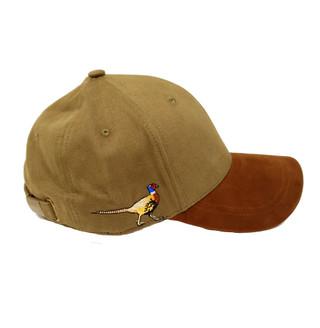 Pheasant Embroidered cotton baseball cap