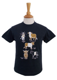 Childrens T-Shirts Cow Design