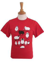 Childrens T-Shirts - Sheep