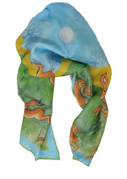 Jane Brookshaw Silk Scarf
