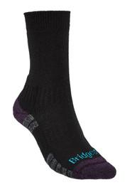 Ladies Bridgedale Lightweight Trekker Sock - Black