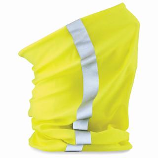 Morf Enhanced Viz Neckgaiter - Fluorescent Yellow