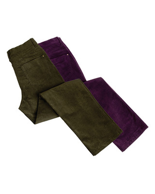 Hoggs of Fife Ladies Cord Jeans